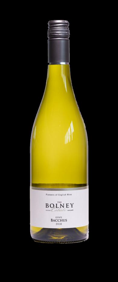 Bolney Wine Estate, Estate Bacchus English white wine bottle