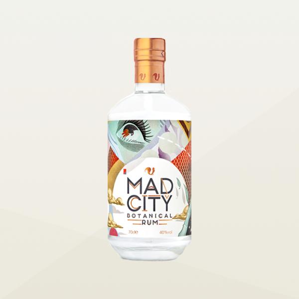 Mad City Botanical Rum | White Rum | Bolney Wine Estate