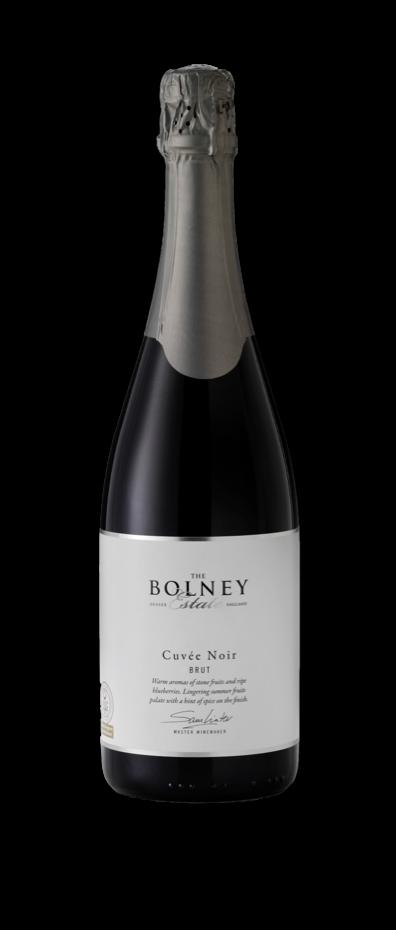 Cuvee Noir Sparkling red wine bottle