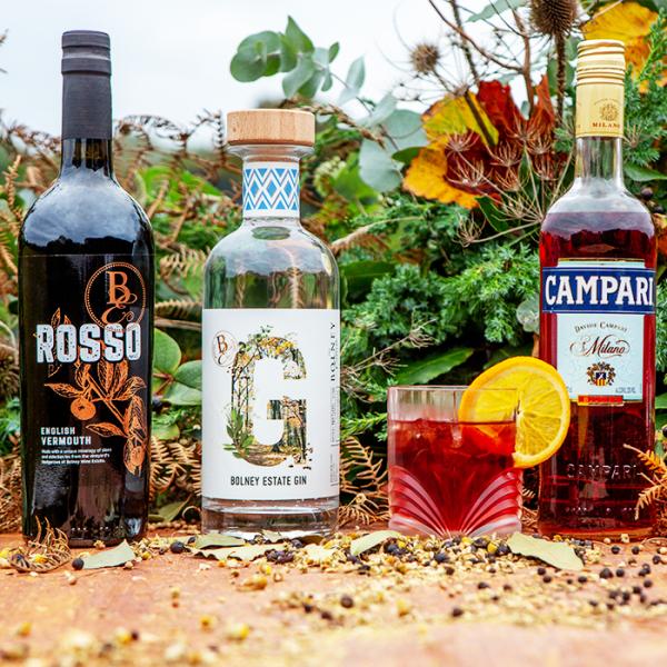 Sussex Negroni Cocktail Kit | Negroni Set | Bolney Wine Estate