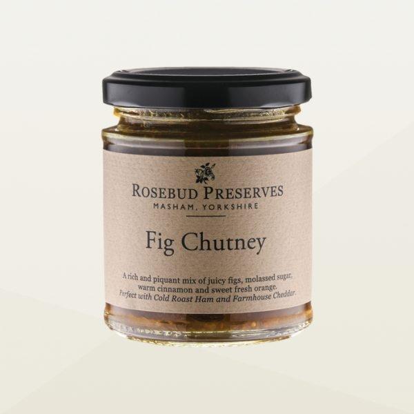 Fig chutney jar - chutney for cheese