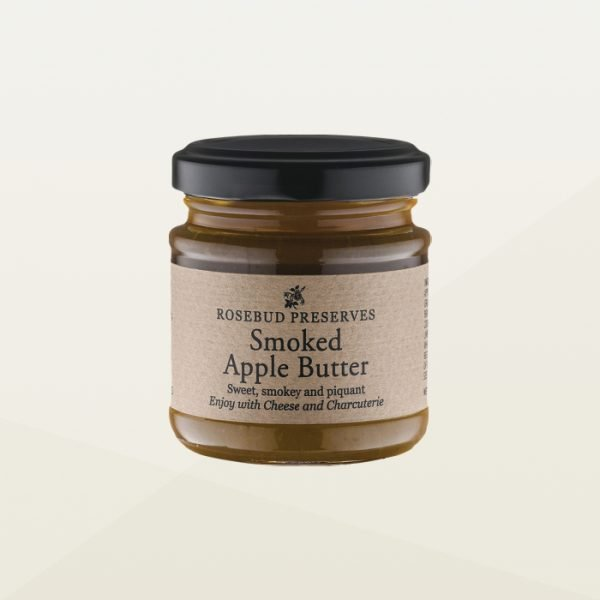 Smoked apple butter jar for cheese and deli meats