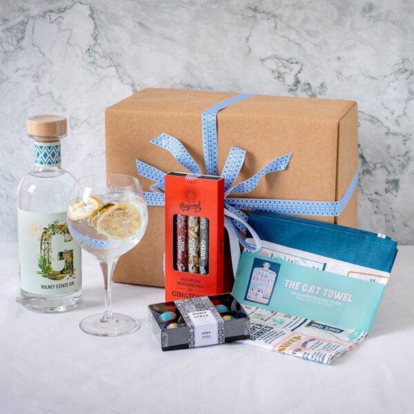 Gin Lover's Hamper gift box