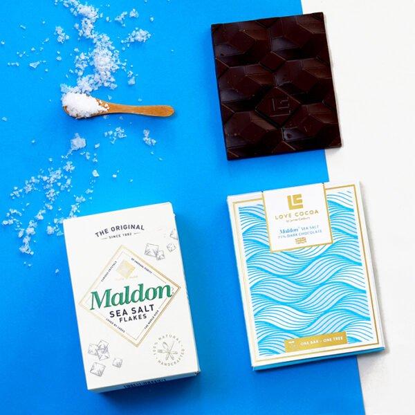 Vegan Dark Chocolate | Sea Salt Chocolate | Bolney Wine Estate